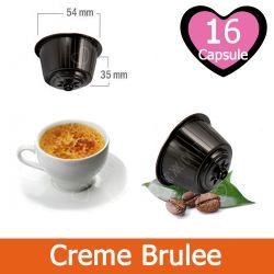 16 Caffè Creme Brulee Nescafè Dolce Gusto Capsule Compatibili