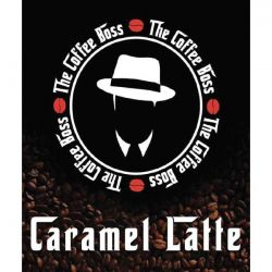 Caramel Latte Liquido Scomposto The Coffee Boss Aroma Concentrato