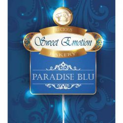 Paradise Blu di Sweet Emotion Precious Bakery - Liquido Mix e Vape 25 ml