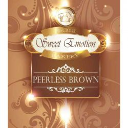 Peerless Brown di Sweet Emotion Precious Bakery - Liquido Mix e Vape 25 ml