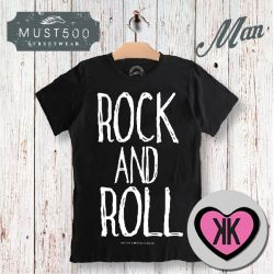 Rock and Roll Must500 T-Shirt Uomo
