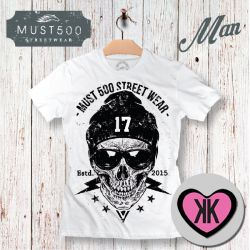 Skull 17 Must500 T-Shirt Uomo