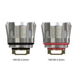 HW-M2 - HW-N2 Head Coil Eleaf Resistenze - 5 Pezzi