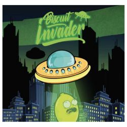 Biscuit Invader Liquido Scomposto Shake 'N' Vape Aroma da 20ml