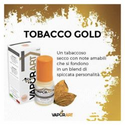 Tobacco Gold VaporArt Liquido Pronto da 10 ml