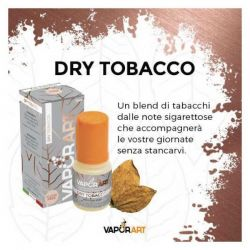 Dry Tobacco VaporArt Liquido Pronto da 10 ml