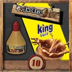 La Smorfia XXL N.10 Aroma King Liquid da 30ml Liquido Scomposto