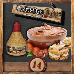 La Smorfia XXL N.14 Aroma King Liquid da 30ml Liquido Scomposto