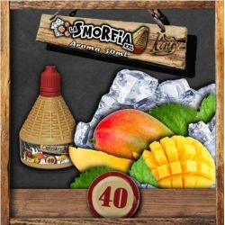 La Smorfia XXL N.40 Aroma King Liquid da 30ml Liquido Scomposto