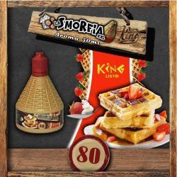 La Smorfia XXL N.80 Aroma King Liquid da 30ml Liquido Scomposto