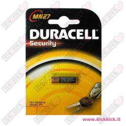 Duracell MN27 Pila MicroStilo 12V Alcalina per Telecomandi - Blister 1 Batterie