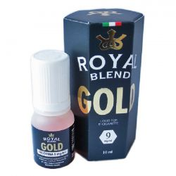 Tabacco Gold Royal Blend Liquido Pronto da 10ml