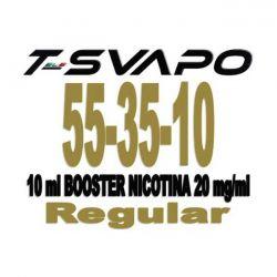 Nicotina 20 mg/ml in Base Neutra 55/35/10 10 ml T-Svapo