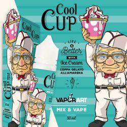 Cool Cup Aroma Vaporart Mix & Vape Liquido da 50ml