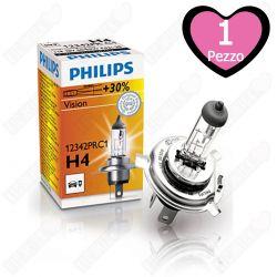 Lampada per fari Philips Vision H4 12V 60/55W