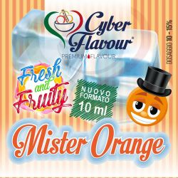 Mister Orange Fresh and Fruity di Cyber Flavour Aroma Concentrato 10 ml