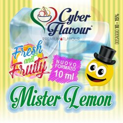Mister Lemon Fresh and Fruity di Cyber Flavour Aroma Concentrato 10 ml