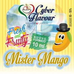 Mister Mango Fresh and Fruity di Cyber Flavour Aroma Concentrato 10 ml