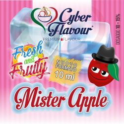 Mister Apple Fresh and Fruity di Cyber Flavour Aroma Concentrato 10 ml