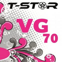 Full VG 70 ml Glicerina Vegetale T-Star da 70ml in flacone da 100ml