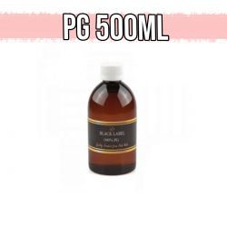 Glicole Propilenico Pink Mule Black Label 100% Full PG Base 500 ml