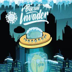 Biscuit Invader Ice Liquido Scomposto Shake 'N' Vape Aroma da 20ml
