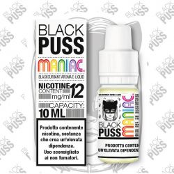 Black Puss Maniac Liquido Pronto 10ml