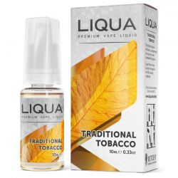 Traditional Tobacco Liqua Liquido Pronto 10ml