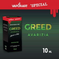 Greed VaporArt Liquido Pronto da 10 ml