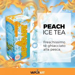 Peach Ice Tea VaporArt Liquido Pronto da 10 ml