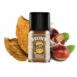 Brown Dreamods N.91 Linea Premium Tabacco Aroma 10 ml