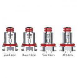 RPM Smok Resistenza Head Coil per Kit e Pod RPM40, RPM80 ed RPM80 Pro - 5 pezzi
