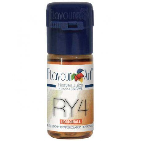 Ry4 FlavourArt Liquido Pronto da 10 ml Aroma al Tabacco