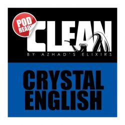 Crystal English Linea Clean Aroma Azhad's Elixirs Liquido Scomposto da 20ml