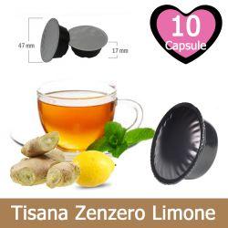 10 Tisana Zenzero e Limone Compatibili Lavazza A Modo Mio
