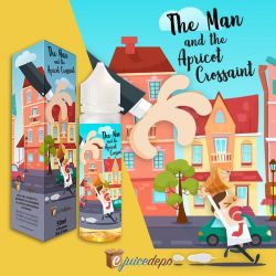 The Man and the Apricot Crossaint Ejuice Depo Aroma 50 ml Liquido Scomposto