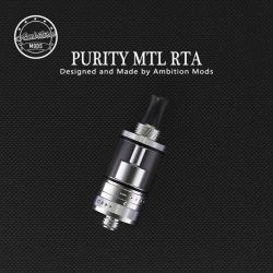 Purity MTL RTA Atomizzatore di Ambition Mods Rigenerabile