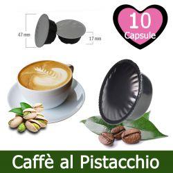 10 Caffè al Pistacchio Compatibili Lavazza A Modo Mio