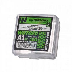 NexMesh Extreme A1 Resistenza Wotofo Head Coil da 0.16 ohm - 10 Pezzi