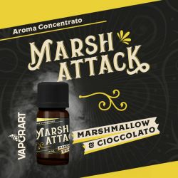 Marsh Attack Liquido VaporArt da 10 ml Aroma Concentrato