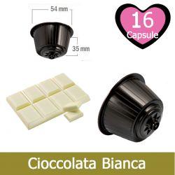 16 Cioccolata Bianca Nescafè Dolce Gusto Capsule Compatibili
