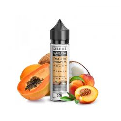 Peach Papaya Coconut Cream Pacha Mama Aroma 20 ml Shot Series di Charlie's Chalk Dust Liquidi scomposti