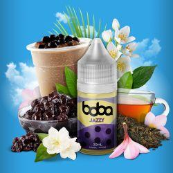 Jazzy Boba Aroma Concentrato Saveur Vape Liquido da 30 ml Gelsomino e The al Latte