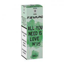 All You Need is Love N°15 T-Svapo by T-Star Liquido Pronto da 10 ml
