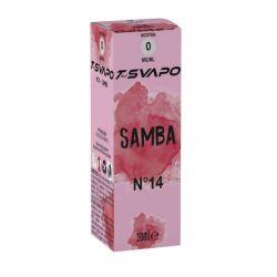 Samba N°14 T-Svapo by T-Star Liquido Pronto da 10 ml