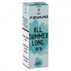 All Summer Long N°9 T-Svapo by T-Star Liquido Pronto da 10 ml