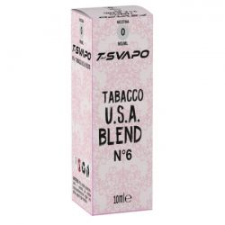 Tabacco USA Blend N°6 T-Svapo by T-Star Liquido Pronto da 10 ml