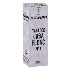 Tabacco Cuba Blend N°1 T-Svapo by T-Star Liquido Pronto da 10 ml