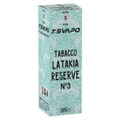 Tabacco Latakia Reserve N°3 T-Svapo by T-Star Liquido Pronto da 10 ml