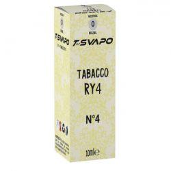 Tabacco RY4 N°4 T-Svapo by T-Star Liquido Pronto da 10 ml